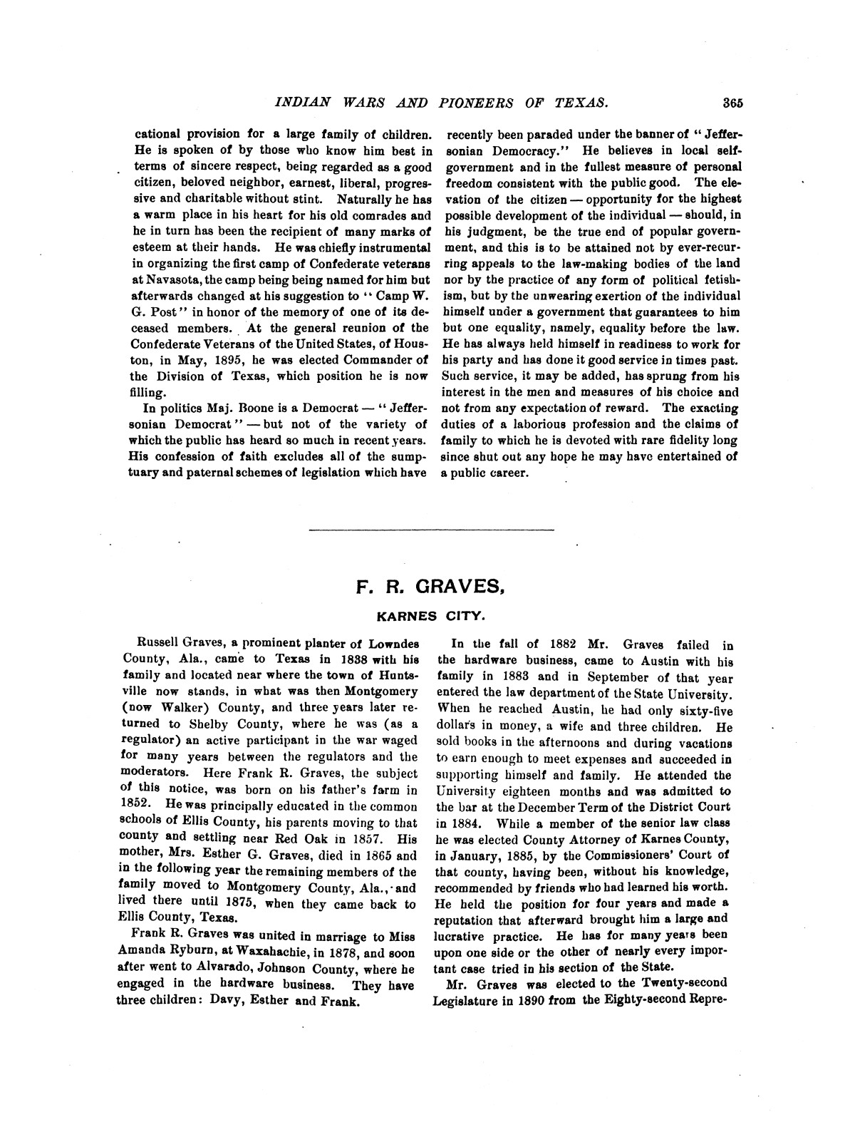 Indian wars and pioneers of Texas / by John Henry Brown.                                                                                                      [Sequence #]: 440 of 894