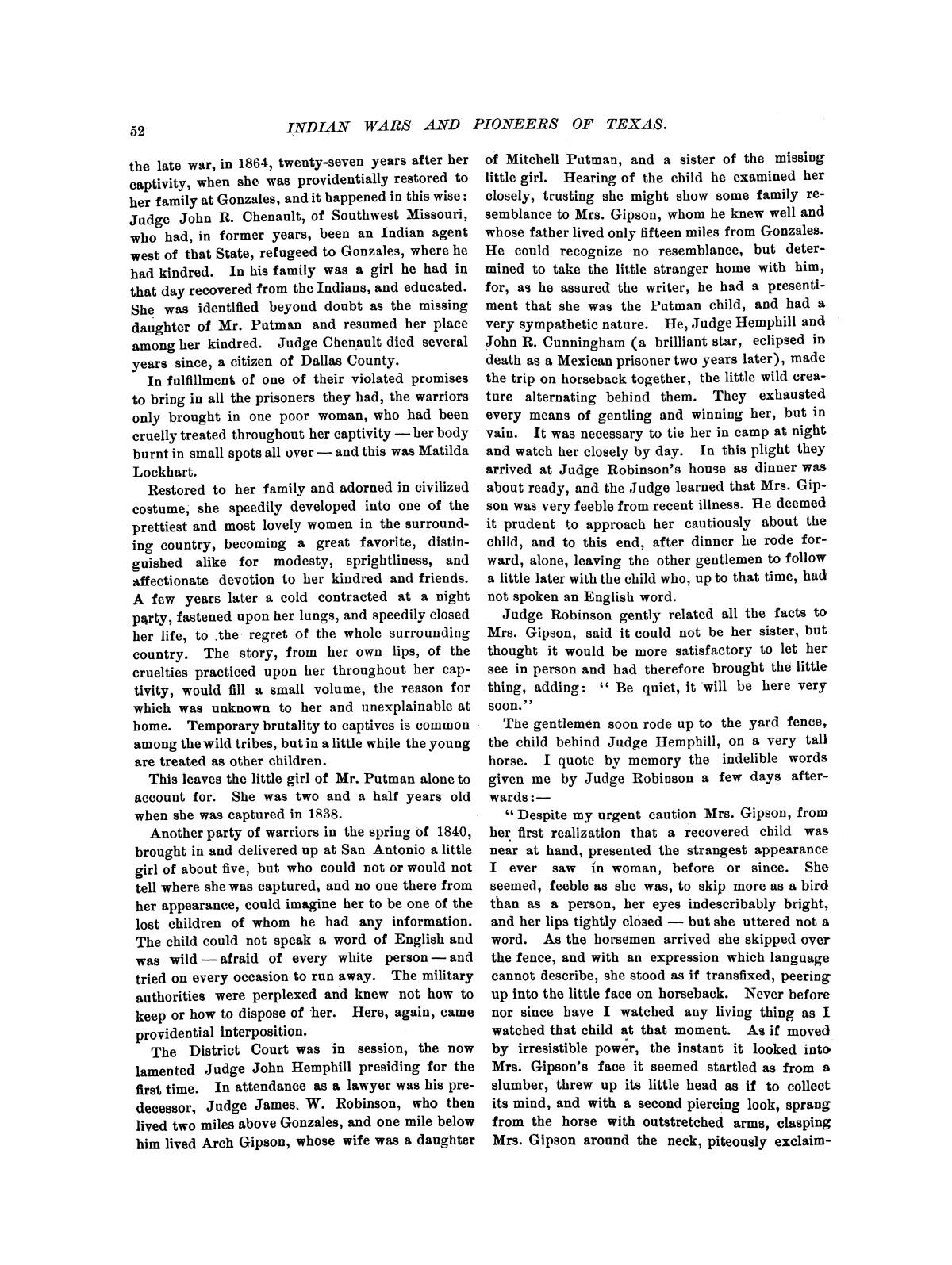 Indian wars and pioneers of Texas / by John Henry Brown.                                                                                                      [Sequence #]: 60 of 894