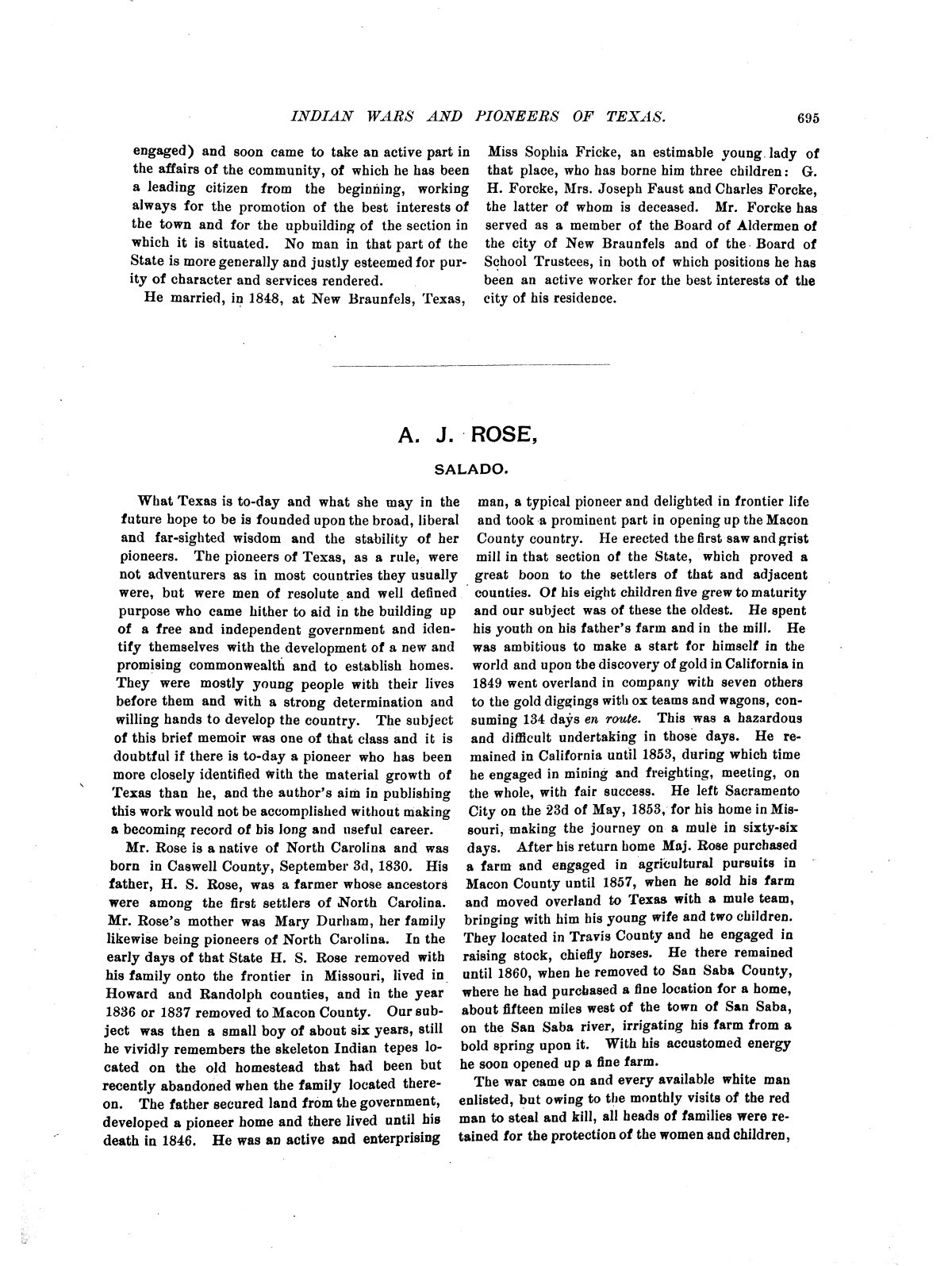 Indian wars and pioneers of Texas / by John Henry Brown.                                                                                                      [Sequence #]: 806 of 894