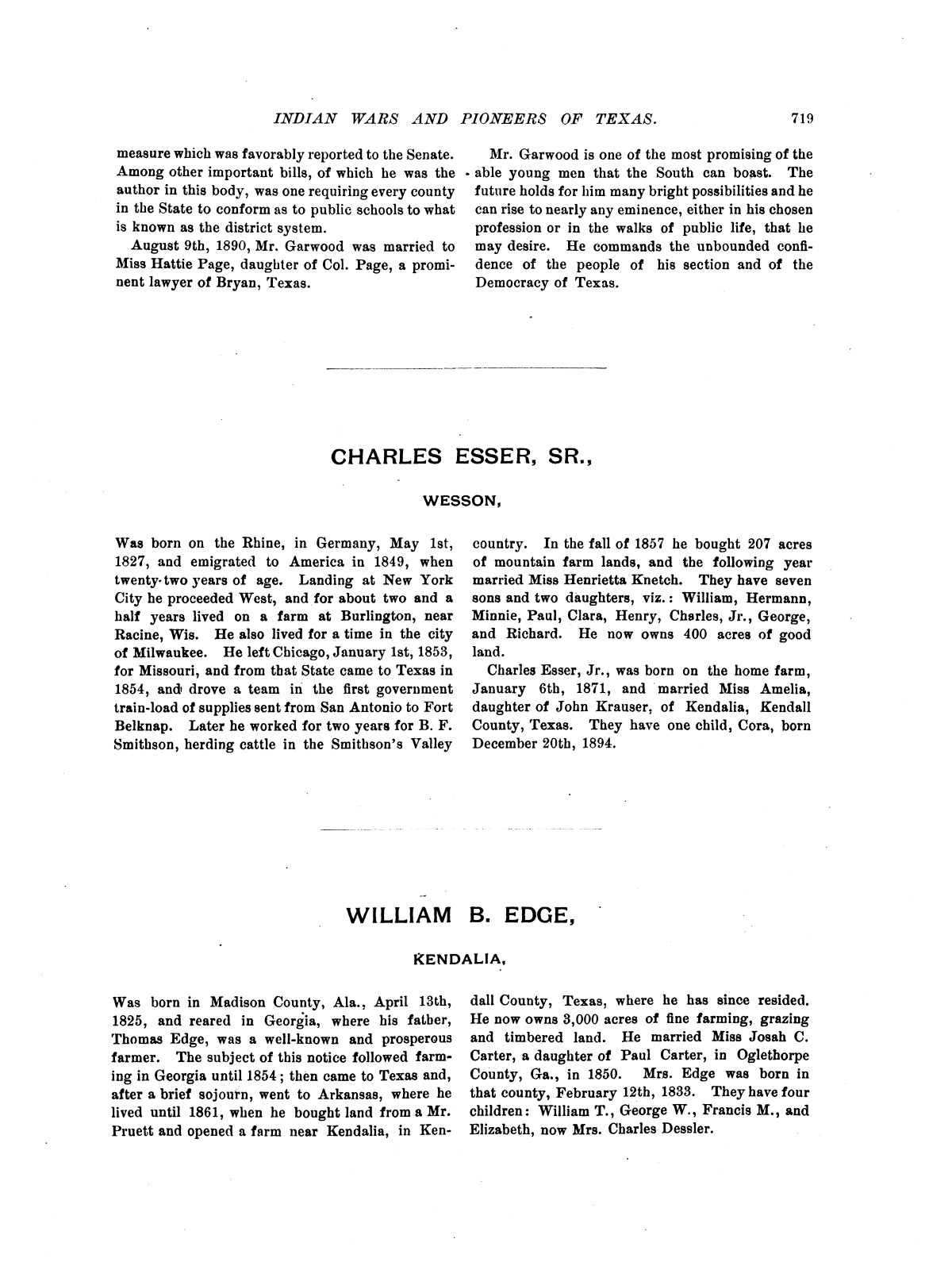 Indian wars and pioneers of Texas / by John Henry Brown.                                                                                                      [Sequence #]: 834 of 894