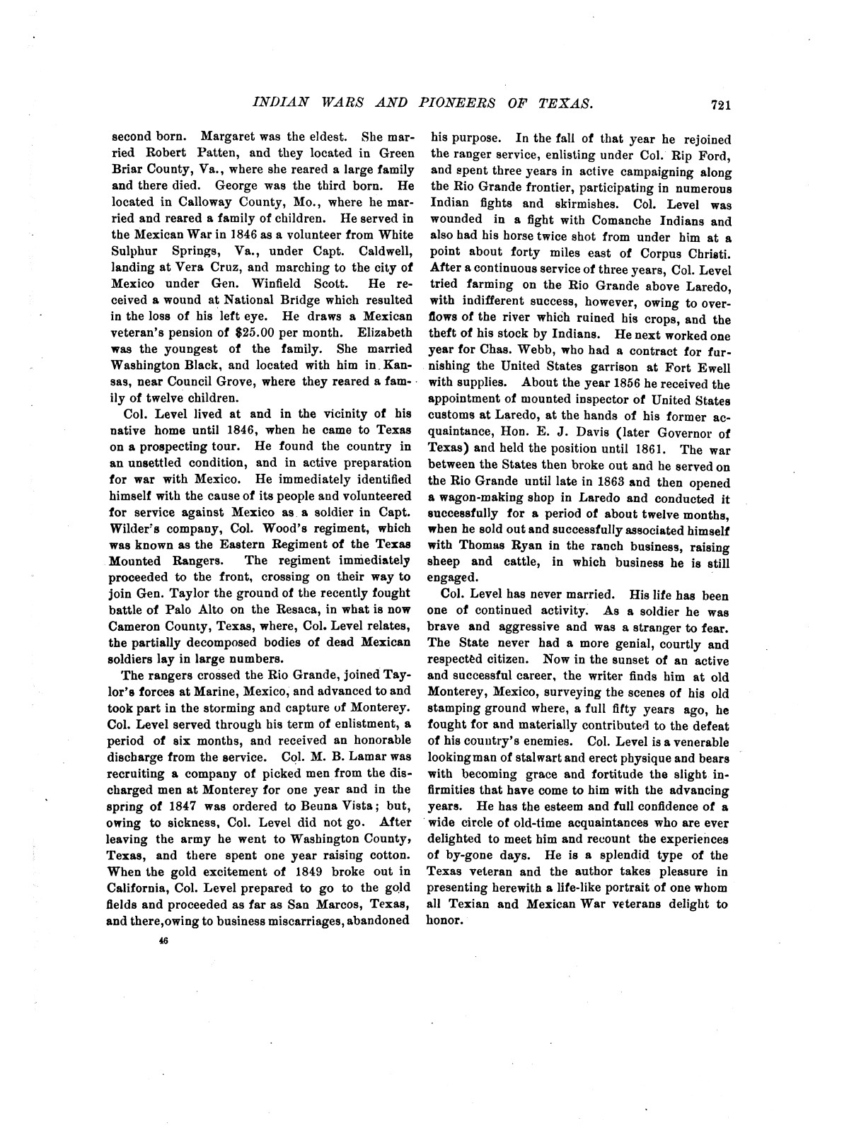 Indian wars and pioneers of Texas / by John Henry Brown.                                                                                                      [Sequence #]: 837 of 894