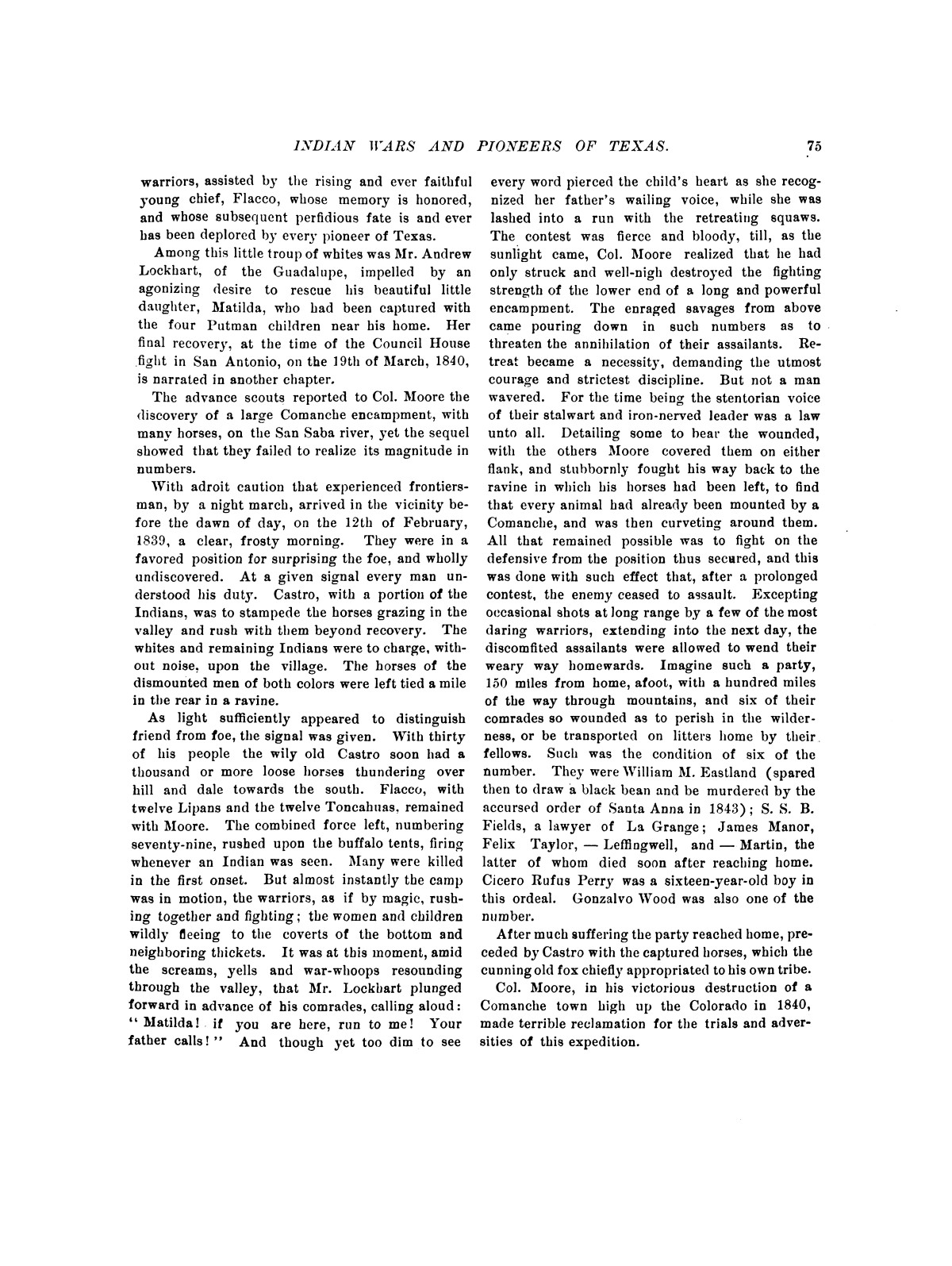 Indian wars and pioneers of Texas / by John Henry Brown.                                                                                                      [Sequence #]: 84 of 894