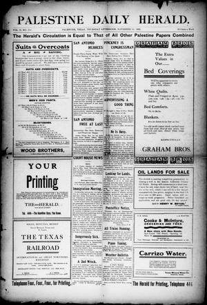 Palestine Daily Herald (Palestine, Tex), Vol. 2, No. 119, Ed. 1, Thursday, November 19, 1903