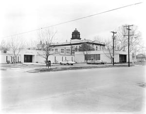 Primary view of object titled '[Bastrop County Courthouse, (Southeast oblique)]'.