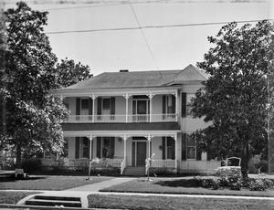 Primary view of object titled '[Dennis Leeds House, (North elevation)]'.