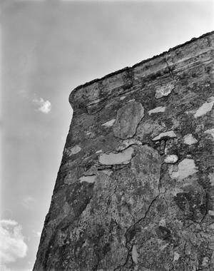 Primary view of object titled '[Los Ojuelos Ranch, (Cornice detail)]'.