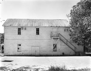 Primary view of object titled '[Kerr Community Center, (East elevation)]'.