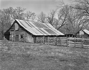 Primary view of object titled '[Log Barn]'.