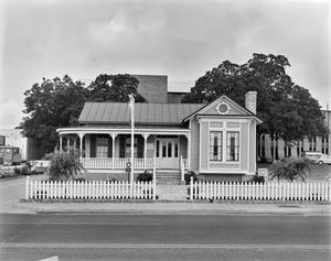 Primary view of object titled '[Radkey House - Franklin Savings, (East elevation)]'.