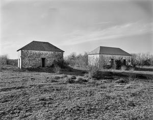 Primary view of object titled '[San Francisco Ranch (41 Zp 76), (Southeast oblique and complex)]'.