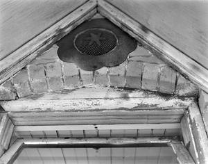 Primary view of object titled '[Lindemann House, (Attic vent detail)]'.