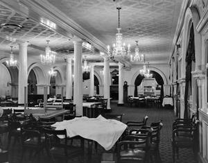 Primary view of object titled '[Menger Hotel, (Dining room)]'.