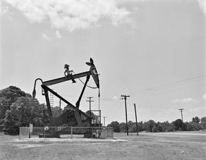 Primary view of object titled '[Mobil Oil - Pumping Unit]'.