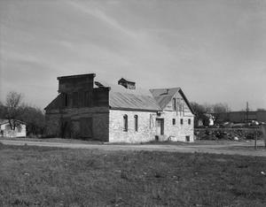 Primary view of object titled '[Old Ice House, (Southwest oblique)]'.