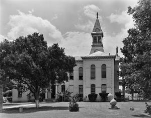 Primary view of object titled '[Wilson County Courthouse, (East elevation)]'.