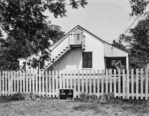 Primary view of object titled '[Klingerhoefer House, (East elevation)]'.