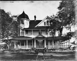 Primary view of object titled '[Middleton House, (West elevation)]'.