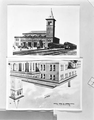 Primary view of object titled '[El Paso Union Station]'.