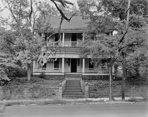 Primary view of object titled '[Allen House, (West facade)]'.