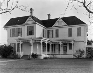 Primary view of object titled '[Sheppard-Sorell House, (Northwest oblique)]'.