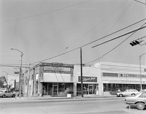 Primary view of object titled '[Gary's Sporting Goods Building]'.