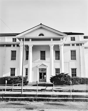 Primary view of object titled '[Cass County Courthouse, (North elevation)]'.