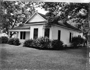 Primary view of object titled '[Burkhart House, (Northeast oblique)]'.