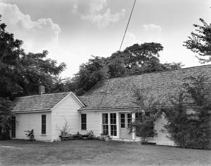 Primary view of object titled '[Rawlins House, (Northeast oblique)]'.