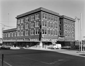 Primary view of object titled '[Rogers Hotel, (Southwest oblique)]'.