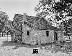 Primary view of object titled '[Chapel at Saint Barnabas Episcopal Church]'.