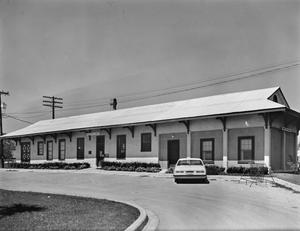 Primary view of object titled '[Weimar Depot., (Southeast oblique)]'.