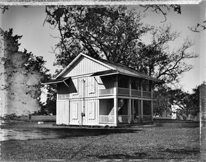 Primary view of object titled '[T.J. Chambers House, (Northeast oblique)]'.