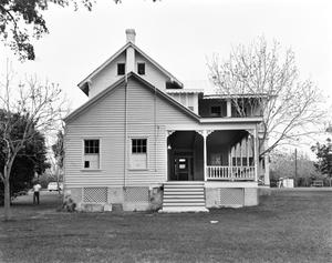 Primary view of object titled '[Frobese-Phillips House, (South elevation)]'.