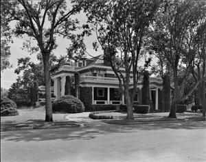 [Landergin House, (Northeast oblique of North facade)]