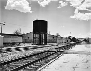 Primary view of object titled '[Southern Pacific Water Tower]'.