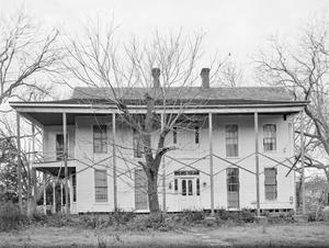 Primary view of object titled '[Rich House, (East facade)]'.