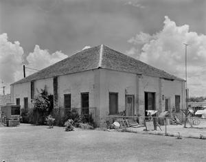 Primary view of object titled '[Hidalgo County Courthouse and Jail, (Southwest oblique (Courthouse))]'.