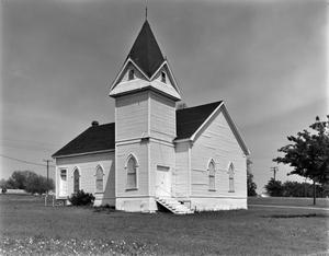 Primary view of object titled '[First Methodist Church, (Southwest oblique)]'.