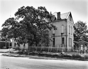 Primary view of object titled '[Clay County Courthouse, (Northwest oblique)]'.