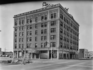 Primary view of object titled '[Capitol Hotel, (Oblique)]'.