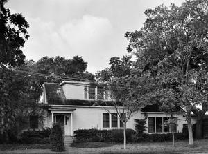 Primary view of object titled '[Henckel House, (North facade)]'.
