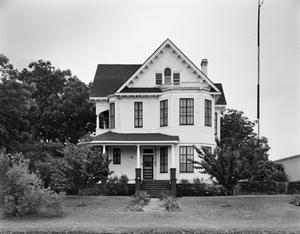 Primary view of object titled '[Bruns House, (East elevation)]'.