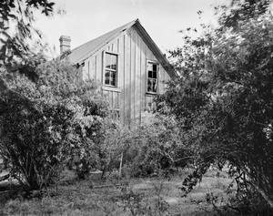 Primary view of object titled '[Farm House, (West elevation)]'.