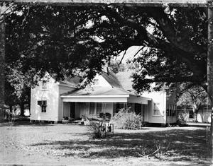 Primary view of object titled '[Jackson-Galey House, (South elevation)]'.