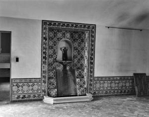 Primary view of object titled '[Sewell House, (Dining room North wall)]'.