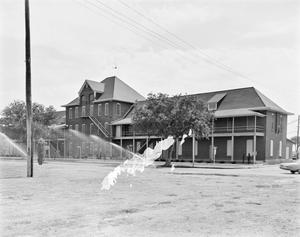 Primary view of object titled '[Original Barracks Building 111]'.