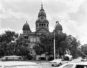 Primary view of [West Side of Denton County Courthouse]