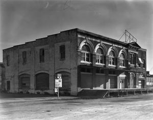Primary view of object titled '[Macatee Building, (Northeast oblique)]'.