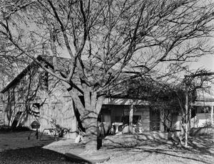 Primary view of object titled '[Wilhelm Weidner House, (Southwest oblique of barn)]'.