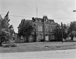 Primary view of object titled '[Concho County Courthouse, (Northeast oblique)]'.